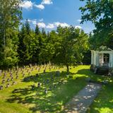 Image: War Cemetery no. 192 on Lubinka Hill